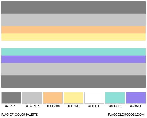 Demifaun Flag Color Palette