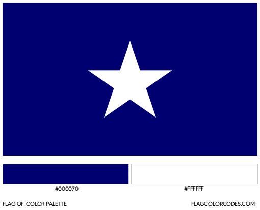 Bonnie Blue Flag Color Palette