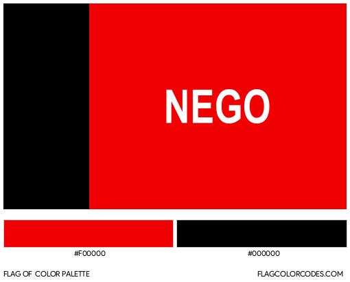 Paraíba Flag Color Palette