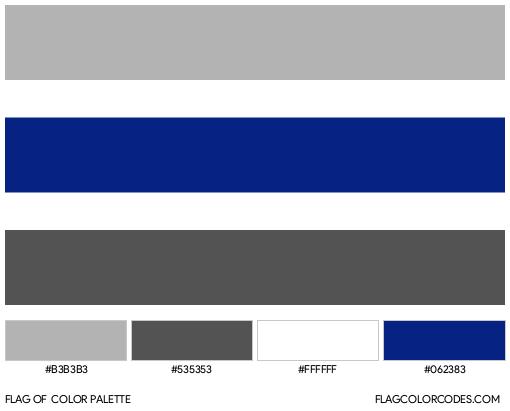 Greygender Flag Color Palette