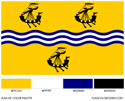 Western Isles Council Flag Color Palette