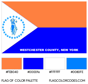 Westchester County Flag Color Palette