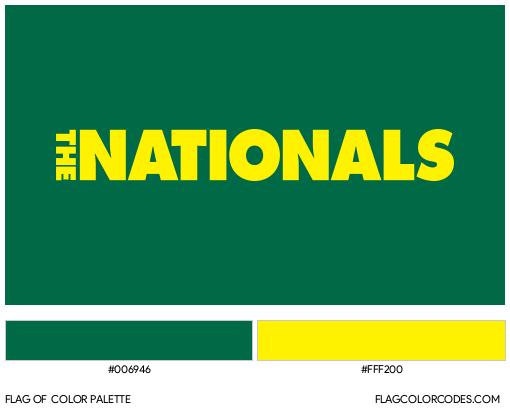 National Party of Australia Flag Color Palette