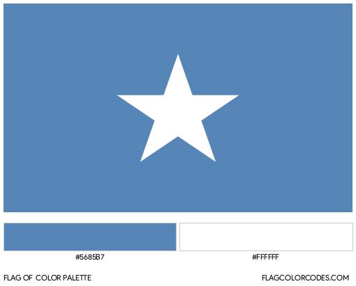 Republic of West Florida Flag Color Palette