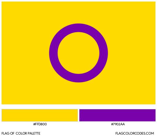 Intersex Flag Color Palette