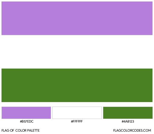 Genderqueer Flag Color Palette